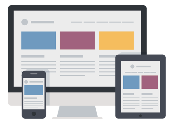 Services responsive web design